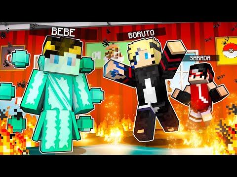 Who's Your Family? O FILHO DO BORUTO E DA SARADA DESPERTOU O TEISEIGAN no Minecraft! ‹ JHONy3 ›