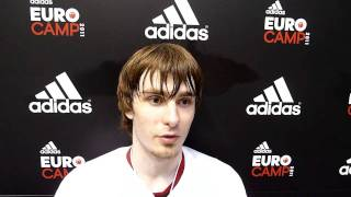 David Jelinek Interview adidas EuroCamp in Treviso