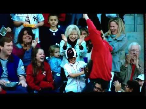 Father And Son Foul Ball Catch