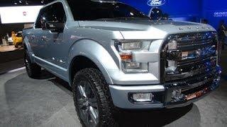 Ford Atlas Concept - Dubai International Motor Show 2013!!
