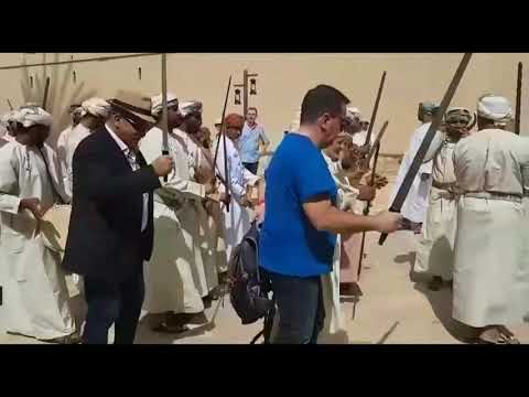 Video: Doctors from France get a taste of Omani culture at Nizwa fort