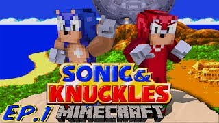 Sonic Craft 4 (Sonic&Knuckles) Part 1 w/ KKcomics and Gizzy Gazza!