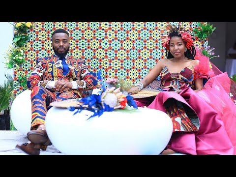 African bohemian wedding with Rina and Dimo Kutama