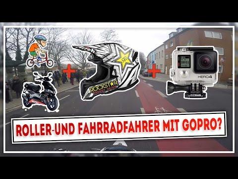 ROLLER & FAHRRADFAHRER MIT CROSSHELM & GOPRO? | WR125X | MotoVlog #016 | MOTOP
