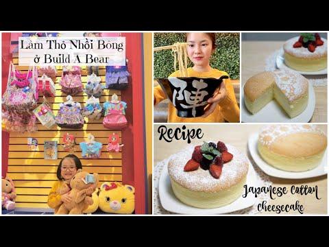 Cuối Tuần Đi Làm Thú Nhồi Bông ♥ Ăn Mì Ramen ♥ Nướng Bánh Phô Mai Nhật Bản | mattalehang - Thời lượng: 25:32.