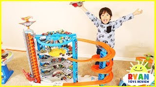Video Biggest Hot Wheels Super Ultimate Garage Playset with Ryan's Toy Cars Collection MP3, 3GP, MP4, WEBM, AVI, FLV Desember 2017