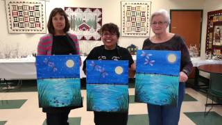Dragonflies Flight by Night! @ West Cumberland Sr. Center ~ Somewhere In Time Paint Mixers