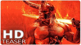 Hellboy Official First Look  2019  New Hellboy Reboot  David Harbour Superhero Movie Hd