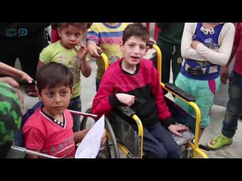 مصر العربية   افتتاح مدرسة للأطفال المعاقين في الأتارب السورية