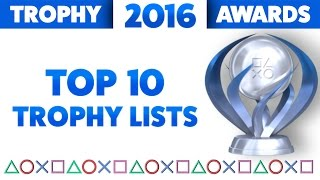 2016 Trophy Awards - The Top 10 Best Trophy Lists of the Year