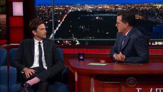 I have no rights on this video.All rights belongs to CBS and The late show with stephen colbert. Original video: ...