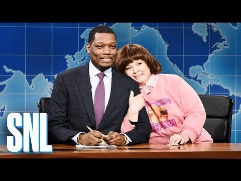 Weekend Update: Michael Che's Stepmom - SNL (видео)