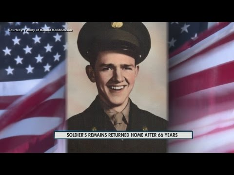 Soldier Laied To Rest 66 Years After He Goes Missing In Action