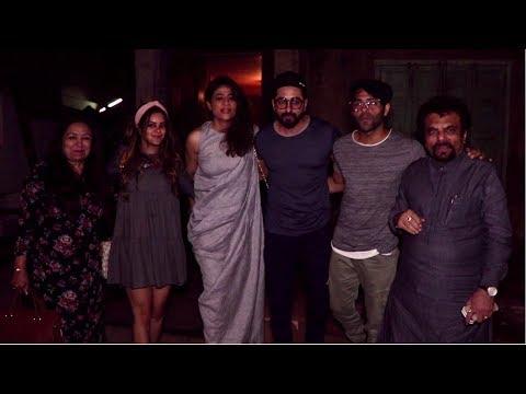 Ayushmann Khurrana & Family Spotted At Pali Bhavan, Bandra