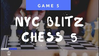 NYC Chess Hustling 7 - The return of the winter games! 1. f3 and 2.Kf2 is debatably the worst chess opening to possibly play... can the player still manage to ...
