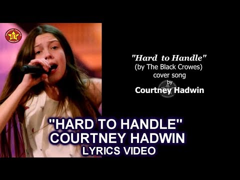 "Courtney Hadwin ""Hard To Handle "" LYRICS VIDEO (Cover Song)  GOLDEN BUZZER America's Got Talent 2018"