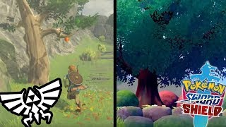 Pokemon Sword & Shield Trees LOOK BETTER Than Breath of the Wild! by Verlisify