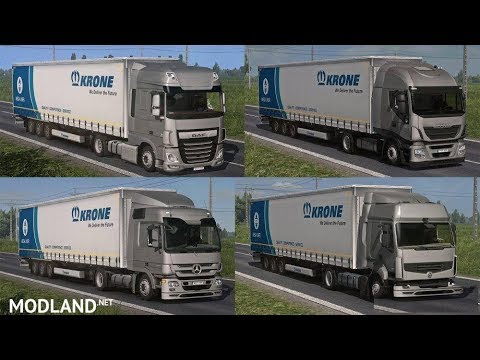 Lowdeck Addons for Schumi's Trucks by Sogard3 v1.3