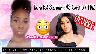 Tasha K & Starmarie VS Cardi B/ TMZ