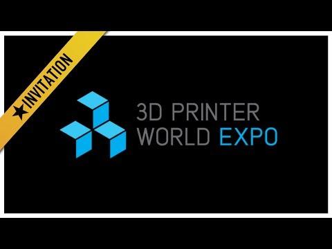 Invitation to the 3D Printer World Expo 2014