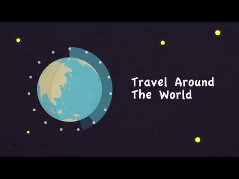 Animation Test : Travel Around The World