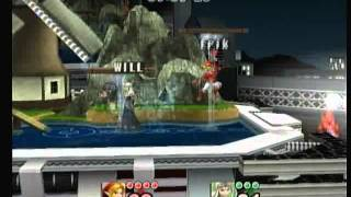 rEX (Link, Marth) VS Will (Shelda) I hate playing Zelda. My friend makes her even more infuriating. We played a $1 MM, Bo5.