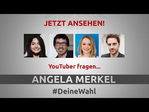 #DeineWahl - YouTuber fragen Angela Merkel