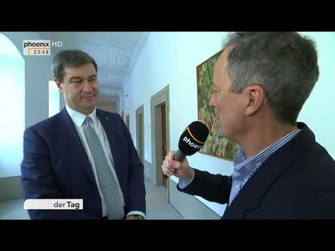 Michael Krons im Interview mit Markus Söder zur CSU-Kla ...