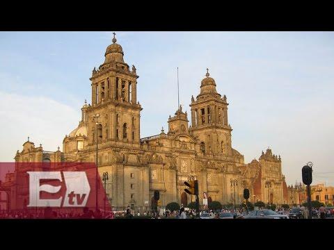 Limpieza profunda en la Catedral de la Ciudad de México