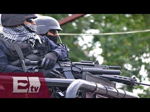 Grupo armado toma las instalaciones de seguridad pública en Chilapa