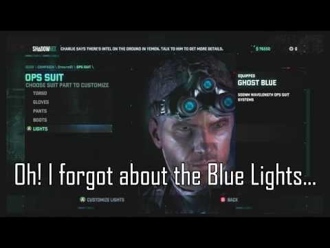 Splinter Cell: Blacklist UPlay Rewards & Options - Well worth a look!