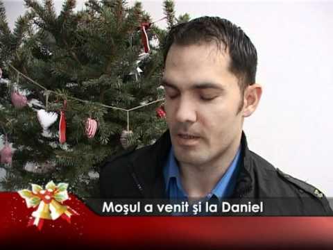 Moşul a venit şi la Daniel