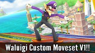 Waluigi Joins Smash 4!