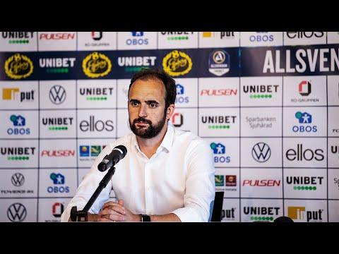 Presskonferens efter IF Elfsborg - ÖSK