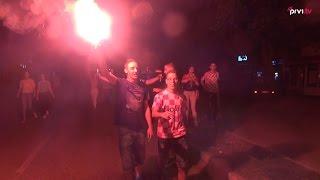 Ogromna podrška navijača iz Mostara za Vatrene ni ovaj put nije izostala