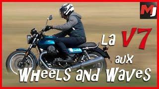 9. La Moto Guzzi V7 fête ses 50 ans aux Wheels and Waves (english subs)