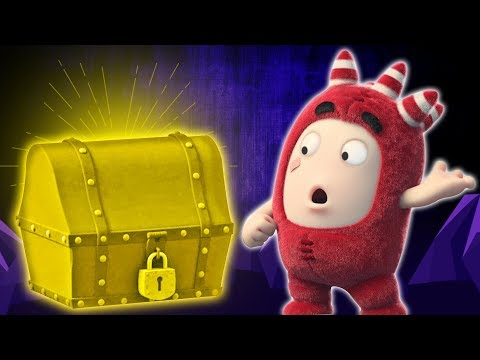 TREASURE CHEST | Oddbods | NEW | Best 3D Cartoons For Children