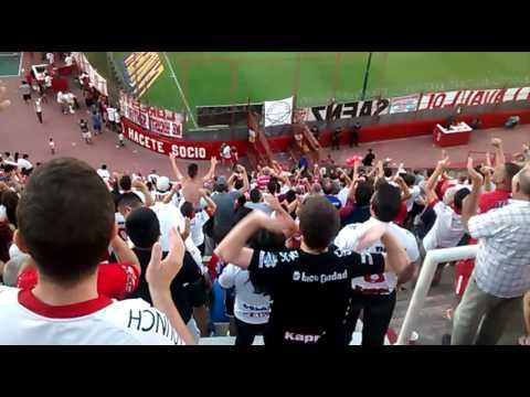 Recibimiento Huracán 1 vs SanLorenzo 1 - La Banda de la Quema - Huracán