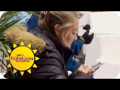 Handy-Phobie: Das gibt es tatsächlich! | SAT.1 Frühst ...