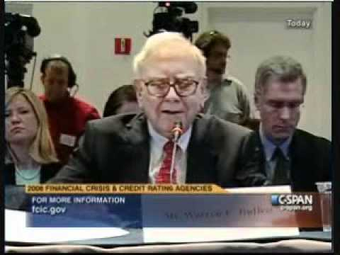 Financial Crisis Inquiry Commissioner Peter Wallison Questions Warren Buffet.