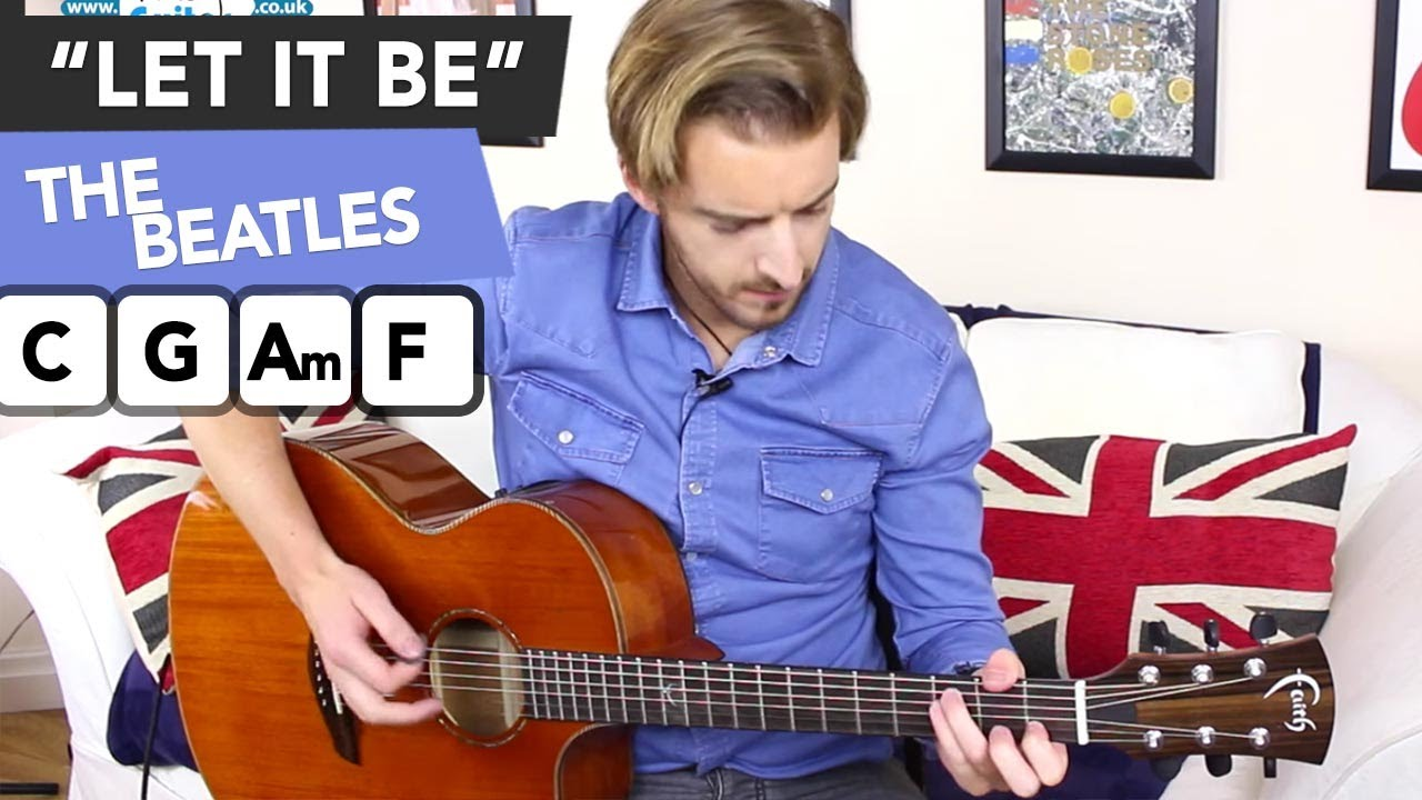 The Beatles Let It Be – Easy Songs To Play On Guitar