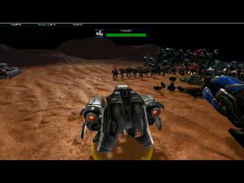 StarCraft 2 Epic Battle from Third Person (TPS) View in RTS mode