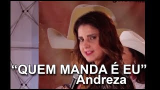 "Andreza canta ""Quem manda é eu"" de Sacomanny / Brinco de Ouro/ Fernando Fraga no Programa Eliane Camargo exibido dia 30 de outubro de 2016 no Canal do Boi."