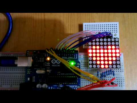 Arduino Playground - DirectDriveLEDMatrix