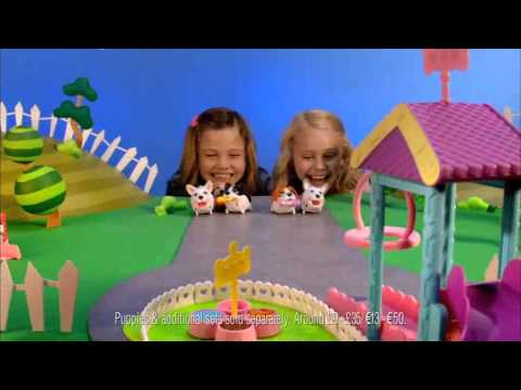 Smyths Toys -  Chubby Puppies Ultimate Dog Park Playset (видео)