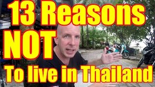 Video 13 Reasons NOT to live in Thailand V276 MP3, 3GP, MP4, WEBM, AVI, FLV Mei 2019