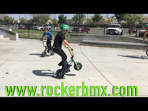 ROCKER MINI BMX TAKEOVER! (видео)