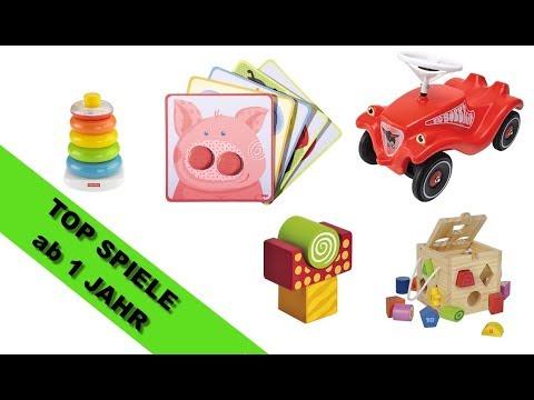 TOP Spielzeug für 1 Jährige - pädagogisch sinnvoll