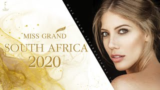 Anronet Ann Roelofsz Miss South Africa 2020简介视频