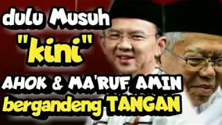 Video MA'RUF AMIN & AHOK, dulu MUSUH sekarang BERGANDENGAN TANGAN MP3, 3GP, MP4, WEBM, AVI, FLV April 2019